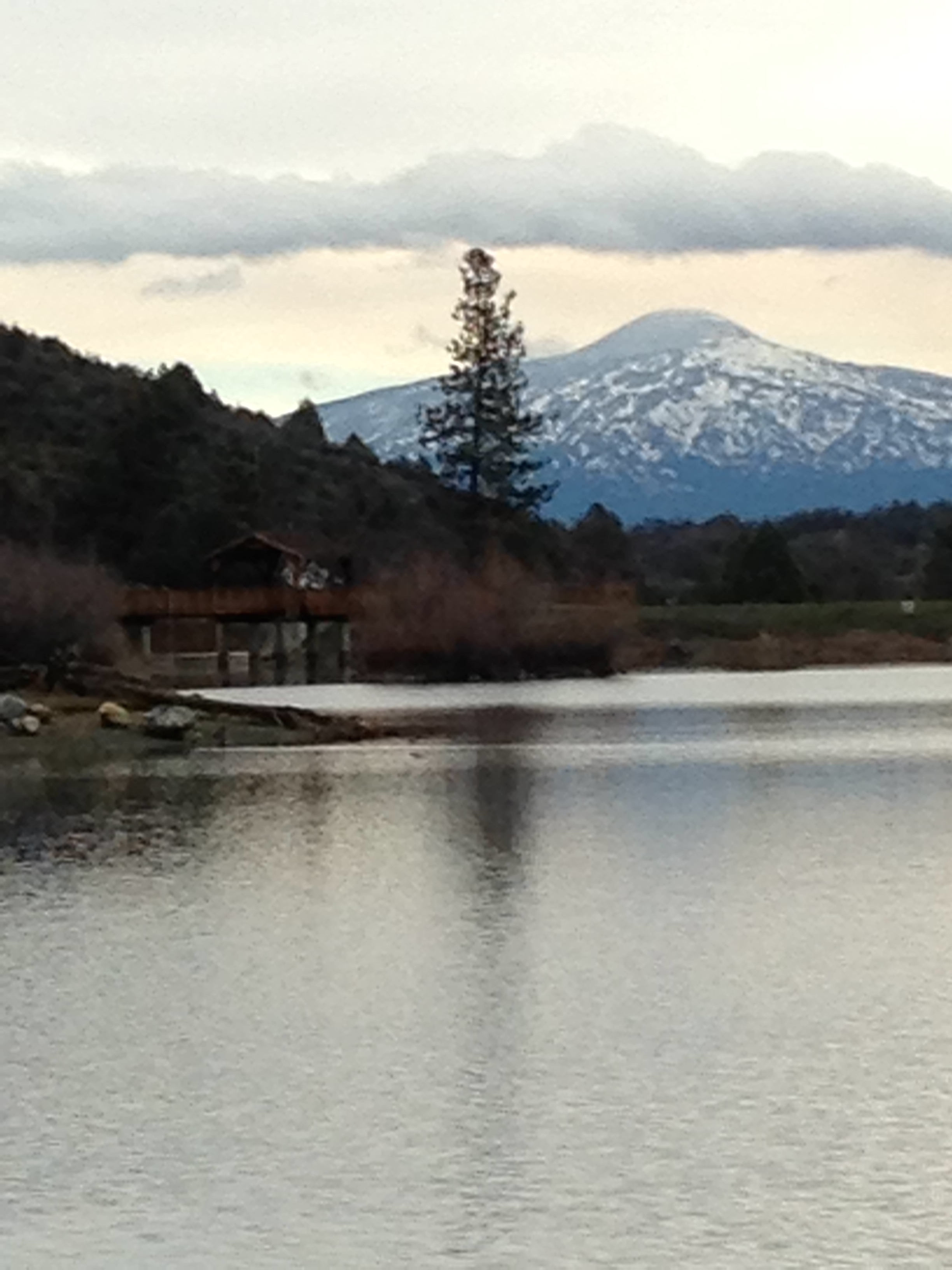 Mt. Shasta as seen from Greenhorn Park in Yreka, CA
