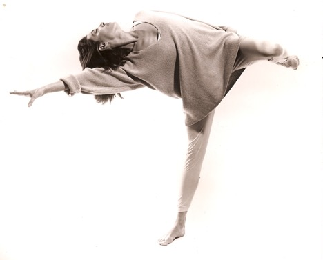 "Leda Meredith in Jennifer Muller's ""Dialectics"" Photo: Tom Caravaglia"